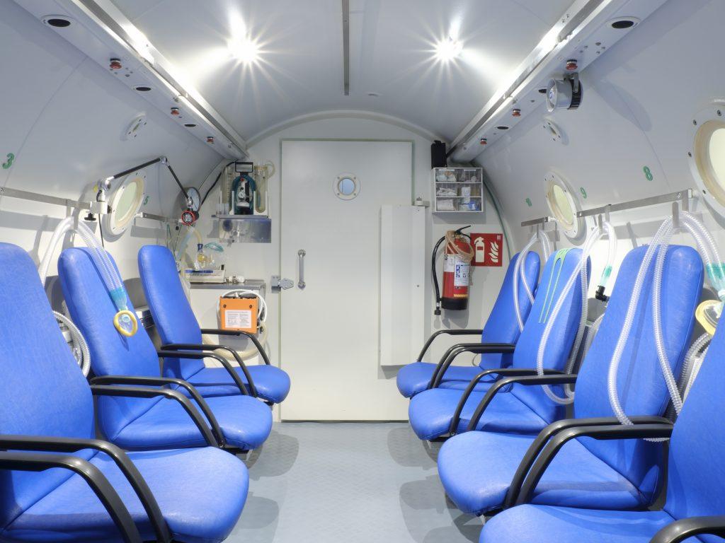 La Cámara Hiperbárica y la unidad de medicina hiperbárica en Málaga
