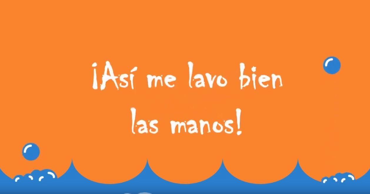 Así me lavo bien las manos (Prevención CORONAVIRUS – Gobierno de España)
